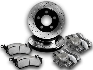 Brake Discs, Pads & Calipers