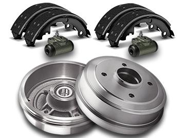 Brake Drums, Shoes & Wheel Cylinders