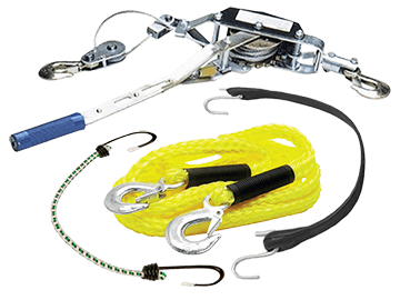 Chains, Ropes & Tie Downs