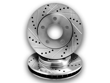 Cross Drilled & Slotted Rotors
