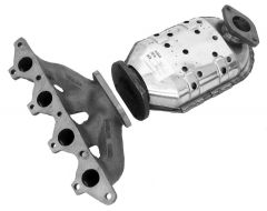 Walker WAL-16383 Ultra® Direct Fit Oval Federal Catalytic Converter with Header Small Image