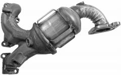 Walker WAL-16508 Ultra® Direct Fit Round Federal Catalytic Converter with Header Small Image