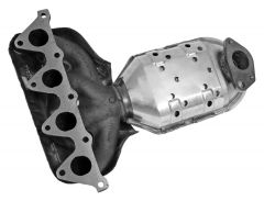 Walker WAL-16514 Ultra® Direct Fit Oval Federal Catalytic Converter with Header Small Image