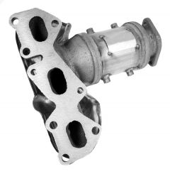 Walker WAL-16527 Ultra® Direct Fit Round Federal Catalytic Converter with Header Small Image
