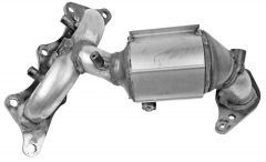 Walker WAL-16557 Ultra® Direct Fit Round Federal Catalytic Converter with Header Small Image
