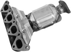 Walker WAL-16619 Ultra® Direct Fit Oval Federal Catalytic Converter with Header Small Image