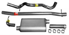 DynoMax WAL-38456 VT® Stainless Steel Premium Cat-Back Single Exhaust System Small Image