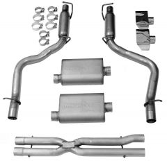 DynoMax WAL-38484 VT® Stainless Steel Premium Cat-Back Dual Exhaust System Small Image