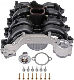Dorman MOT-615-178 OE Solutions™ Upper Plastic Intake Manifold with Gaskets Small Image