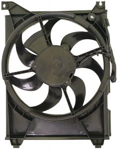Dorman MOT-620-717 OE Solutions™ A/C Condenser Fan Assembly without Controller Small Image