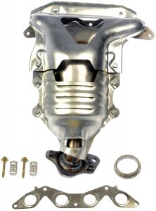Dorman MOT-673-608 OE Solutions™ Stainless Steel Exhaust Manifold with Integrated Stainless Steel CARB Catalytic Converter Small Image