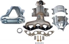 Dorman MOT-673-6081 OE Solutions™ Exhaust Manifold with Integrated Stainless Steel CARB Catalytic Converter Small Image