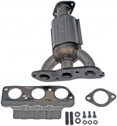 Dorman MOT-674-621 OE Solutions™ Stainless Steel Exhaust Manifold with Integrated Stainless Steel Federal Catalytic Converter Small Image
