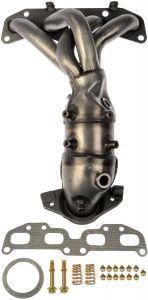 Dorman MOT-674-659 OE Solutions™ Stainless Steel Exhaust Manifold with Integrated Stainless Steel Federal Catalytic Converter Small Image