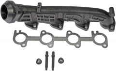 Dorman MOT-674-708 OE Solutions™ Cast Iron Exhaust Manifold Kit with Required Gaskets & Hardware Small Image