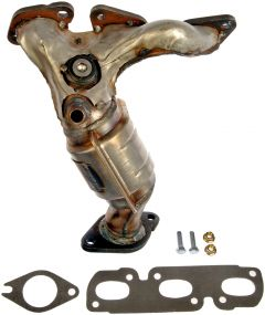 Dorman MOT-674-830 OE Solutions™ Stainless Steel Exhaust Manifold with Integrated Stainless Steel Federal Catalytic Converter Small Image