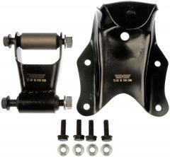Dorman MOT-722-100 OE Solutions™ Rear Position Leaf Spring Shackle and Bracket Kit Small Image