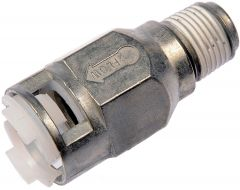 Dorman MOT-800-402 OE Solutions™ HVAC Quick Disconnect Straight Heater Male Thread Hose Connector Small Image