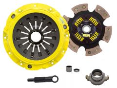 Advanced Clutch Technology ACT-ZX6-XTG6 Xtreme™ Pressure Plate & Race Series™ XT-M Sprung 6-Pad Clutch Kit Small Image