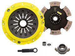 Advanced Clutch Technology ACT-ZX6-XTR6 Xtreme™ Pressure Plate & Race Series™ XT-M Rigid 6-Pad Clutch Kit Small Image