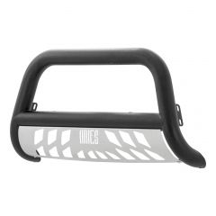 Aries ARI-P35-4014 Pro Series™ Textured Black Powder Coated Bull Bar with Stainless Steel Skid Plate Small Image