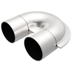 """MagnaFlow MAG-10731 Stainless Steel 180? Mandrel Bend U-Pipe - (2.5"""" DIA) Small Image"""