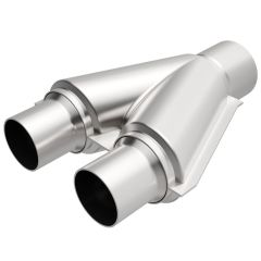 """MagnaFlow MAG-10758 Stainless Steel Exhaust Y-Pipe - (2.25"""" ID, 2.5"""" OD, 10"""" Length) Small Image"""