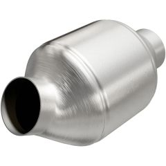 """MagnaFlow MAG-51775 Stainless Federal OEM Grade Catalytic Converter without O2 Sensor Port (2.25"""" IN\/2.25"""" OUT) Small Image"""
