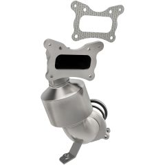 MagnaFlow MAG-52032 Direct Fit Stainless Steel Federal OEM Grade Catalytic Converter with Header Small Image