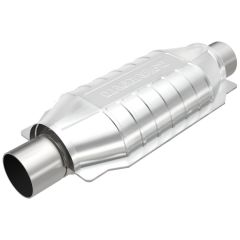 """MagnaFlow MAG-558305 Universal Stainless Steel CARB OBDII Catalytic Converter (2.25"""" IN\/2.25"""" OUT) Small Image"""