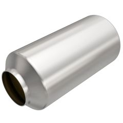 """MagnaFlow MAG-558406 Universal Stainless Steel CARB OBDII Catalytic Converter (2.5"""" IN\/2.5"""" OUT) Small Image"""