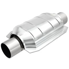 """MagnaFlow MAG-559105 Universal Stainless Steel CARB OBDII Catalytic Converter (2.25"""" IN\/2.25"""" OUT) Small Image"""