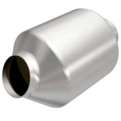 """MagnaFlow MAG-559176 Universal Stainless Steel CARB OBDII Catalytic Converter (2.5"""" IN\/2.5"""" OUT) Small Image"""