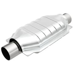 """MagnaFlow MAG-99609HM Stainless Federal Heavy Metal Catalytic Converter without Sensor Port (3"""" IN\/3"""" OUT) Small Image"""
