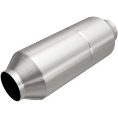 """MagnaFlow MAG-99756HM Stainless Federal Heavy Metal Catalytic Converter without Sensor Port (2.5"""" IN\/2.5"""" OUT) Small Image"""