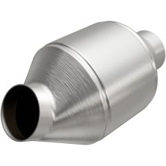 """MagnaFlow MAG-99774HM Stainless Federal Heavy Metal Catalytic Converter without Sensor Port (2"""" IN\/2"""" OUT) Small Image"""