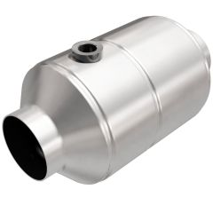 """MagnaFlow MAG-99956HM Stainless Federal Heavy Metal Catalytic Converter with 1x O2 Sensor Port (2.5"""" IN\/2.5"""" OUT) Small Image"""