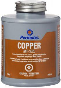 Copper Anti-Seize Lubricant (454 g / 16 oz Brush-Top Bottle)