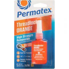 High Strength Removable Threadlocker ORANGE (10 ml / 0.34 fl oz Bottle)