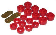 Prothane PTN-7-148 Red Body Mount Bushing Kit Small Image