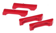 Prothane PTN-7-1711 Red Radiator Insulators Small Image