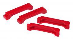 Prothane PTN-7-1712 Red Radiator Insulators Small Image