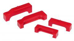 Prothane PTN-7-1713 Red Radiator Insulators Small Image