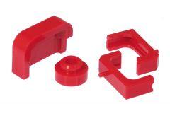 Prothane PTN-7-1717 Red Radiator Insulators Small Image