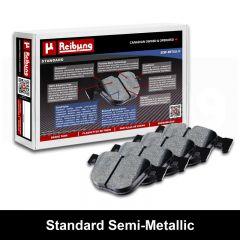 Reibung REI-BPDSDSM14070 Standard Semi-Metallic Brake Pad Set Small Image