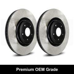 Reibung REI-BRTOEM9999-BC-P Premium Black OEM Grade Brake Rotors Small Image