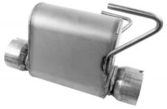 Walker WAL-21649 Quiet-Flow® SS Stainless Steel Oval Muffler Small Image