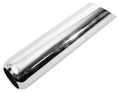 """Walker WAL-35834 Chrome Exhaust Pipe Spout - (3"""" ID, 14"""" Length) Small Image"""