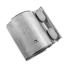 """Walker WAL-36535 Stainless Steel Flat Band Exhaust Clamp - (2.165"""" Dia) Small Image"""