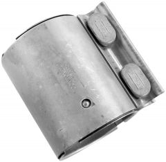 """Walker WAL-36536 Stainless Steel Flat Band Exhaust Clamp - (2.559"""" Dia) Small Image"""